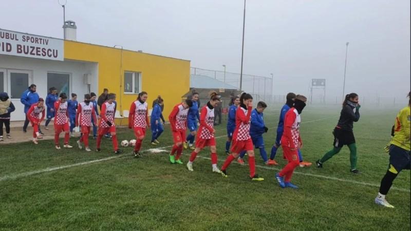 AC Piroș Security a întors scorul la Alexandria și s-a calificat și matematic în play-offul Ligii I feminin la fotbal!