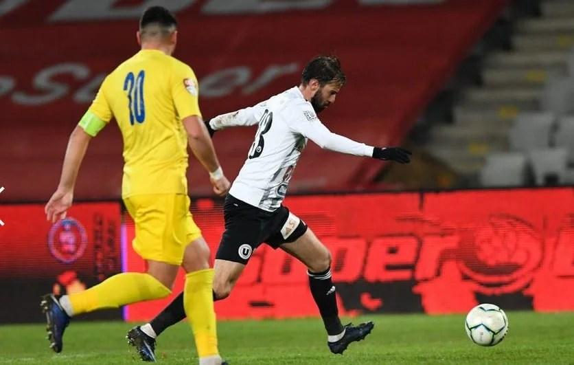 """Liga a II-a, etapa a 15-a: U. Cluj, cu arădeanul Gavra pe lista marcatorilor, nu pierde contactul cu zona """"play-off"""" după succesul în fața Dunării!"""