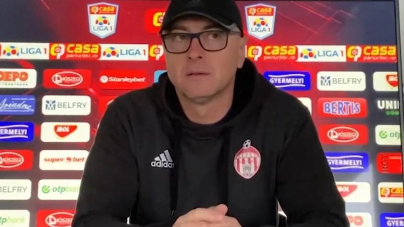 """Grozavu, fără fundașii laterali titulari cu UTA: """"Întâlnim o nucă tare a Ligii 1, o echipă foarte bine organizată din punct de vedere defensiv"""""""