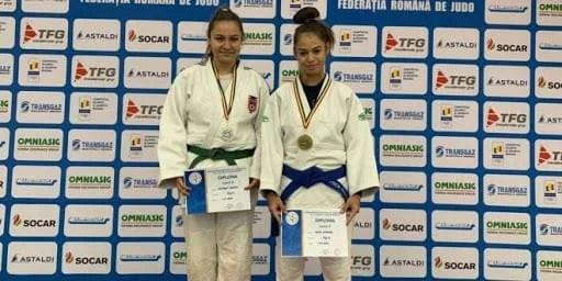 Zece medalii naționale, bilanțul secției de judo de la CSM Arad în anul 2020