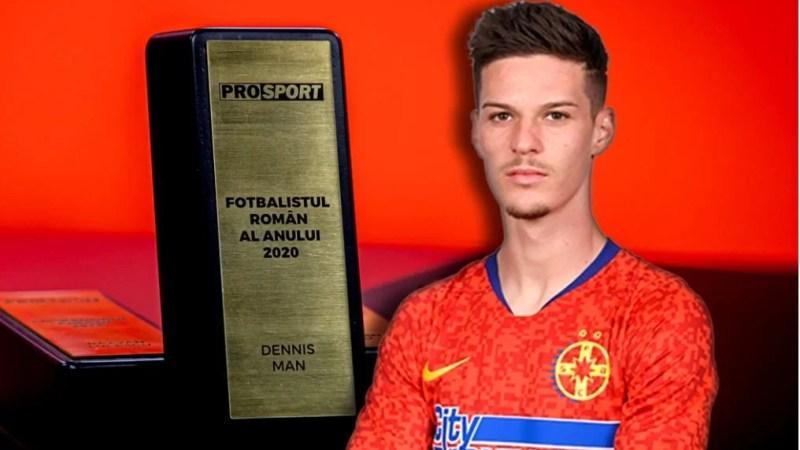 Premii pe linie pentru arădeanul Man: Și ProSport l-a declarat cel mai bun fotbalist român al anului!