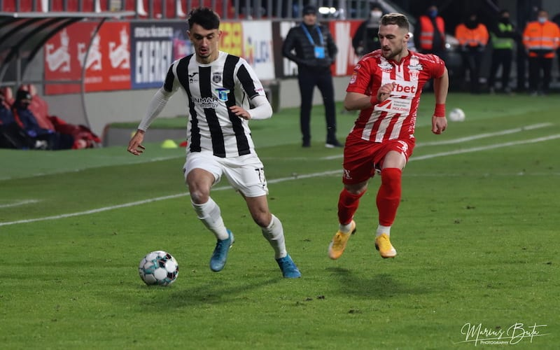 """Stahl s-a întors mai puternic și empatic la Arad: """"Mi-am cerut scuze tribunei pentru că am debutat la UTA și acest club va fi mereu în inima mea"""""""