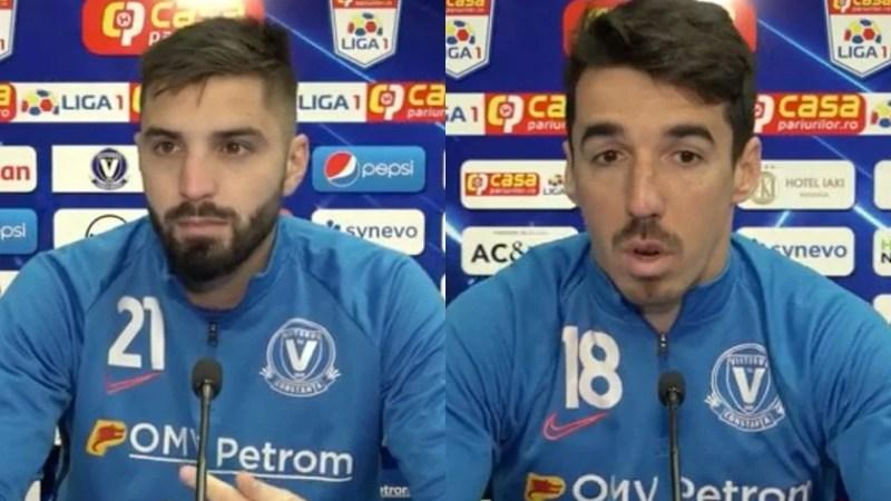 """Dobrosavlevici și Artean o pun în gardă pe UTA: """"Victoria cu Sibiul ne-a dat moral, mergem după trei puncte la Arad"""""""