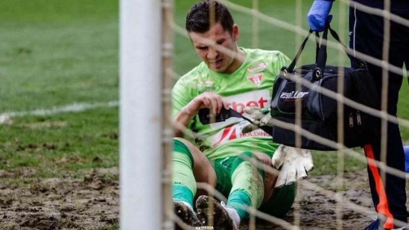 """Gol valabil pentru Hermannstadt? Iacob e suspect de fractură; Balint: """"Are degetul umflat, Antal mi-a spus că a fost împins!"""""""