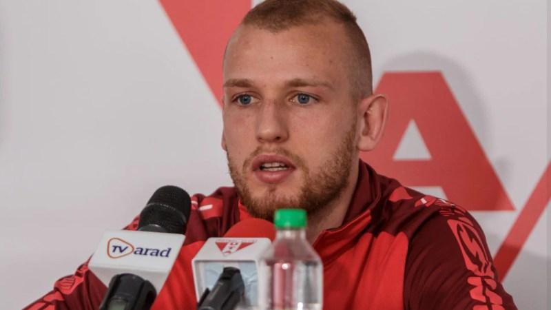 """Vorobjovas: """"Cei de la FCSB nu sunt favoriți, dar trebuie să dovedim asta sâmbătă! Campionatul României – un pas înainte, nu mă gândesc să revin prea curând în Lituania"""""""