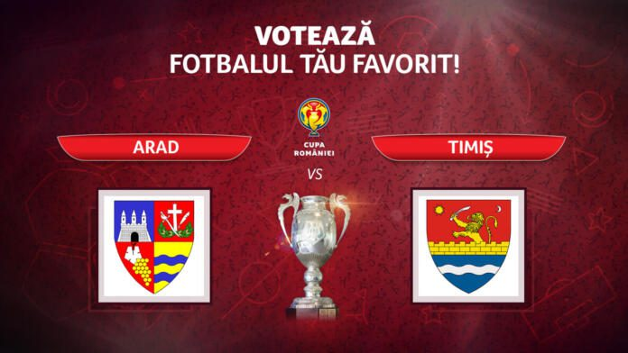 """A început derby-ul Vestului în campania """"Cupa Vine La Tine – 2021""""! Vezi cum poți decide victoria Aradului și cine a intrat în luptă pentru județul nostru!"""