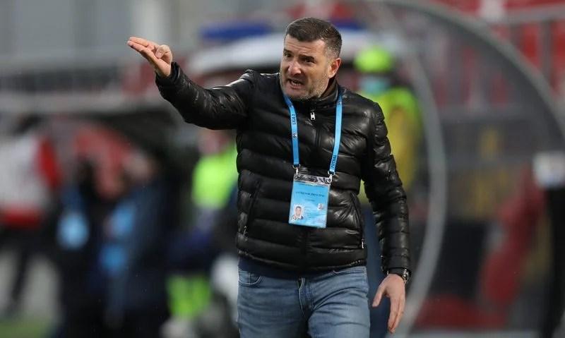 """Balint, după remiza albă cu Astra: """"Un punct câștigat după o prestație bună a băieților, terminăm cu fruntea sus sezonul regular"""""""
