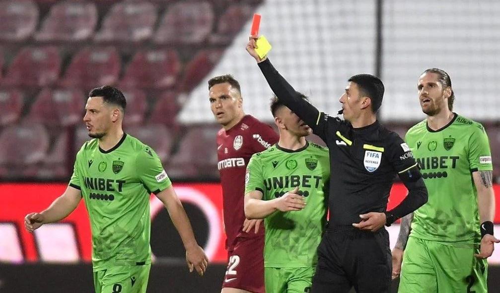 Liga I, etapa a 29-a: Chindia bate Voluntariul și ține aprinsă lupta pentru ultimele două locuri de play-off, în 9 oameni Dinamo a rezistat 80 de minute la Cluj!