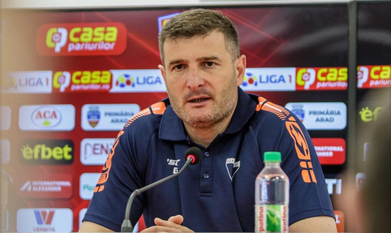 """UTA are (o primă) minge de meci cu Poli Iași, iar Balint nu mai dorește să privească în urmă: """"Statistica e una, realitatea e alta, ediția de Liga 1 – un experiment nereușit"""""""