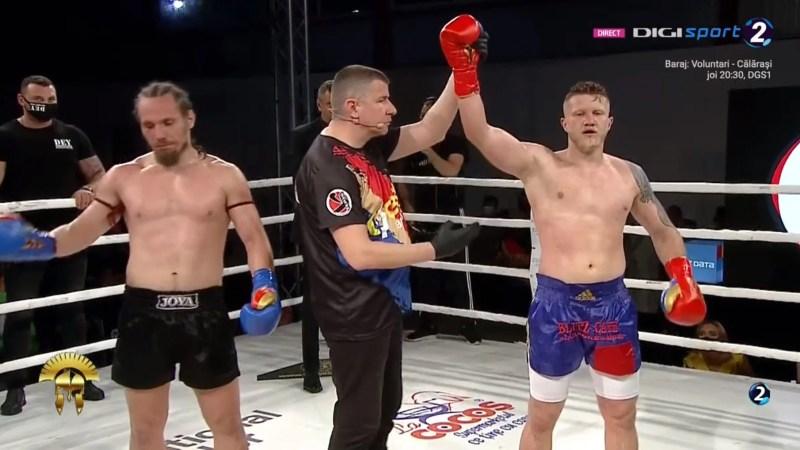 Victorie cu repetiție pentru Edi Gafencu în fața deveanului Boiciuc!