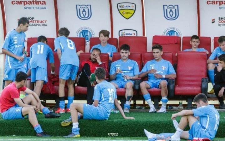 Aventura UTA-ei U16 în Liga Elitelor s-a încheiat pe Bega