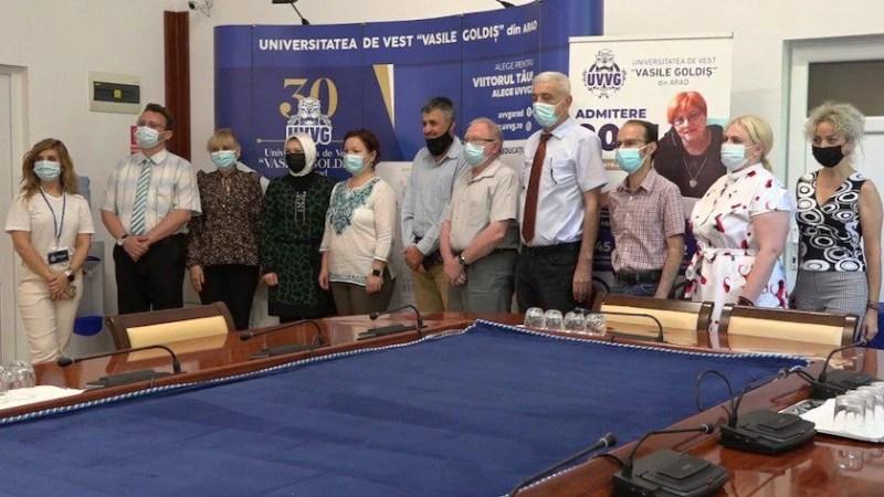 Vizită a unei delegaţii de la Universitatea Al-Zaytoonah din Iordania printr-un program Erasmus+