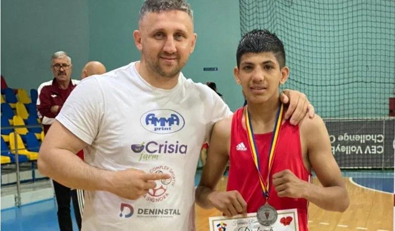 David Otvoș a boxat pentru argint la Cupa României