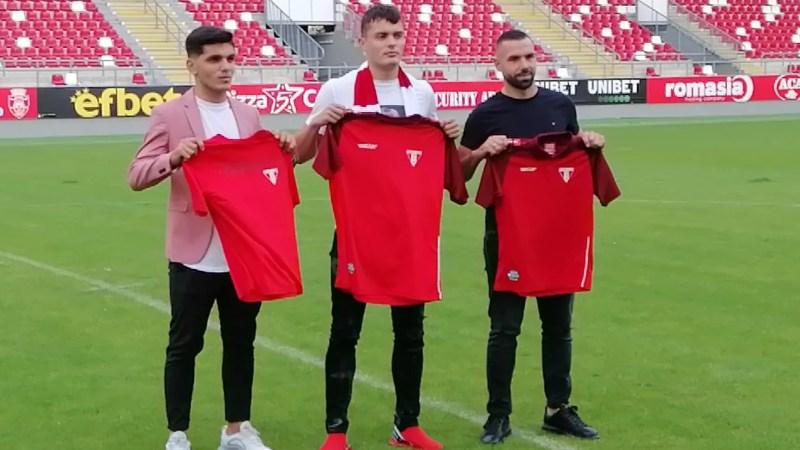 UTA și-a prezentat primele trei achiziții: Adrian Mar, Idriz Batha și Rolandas Baravykas!