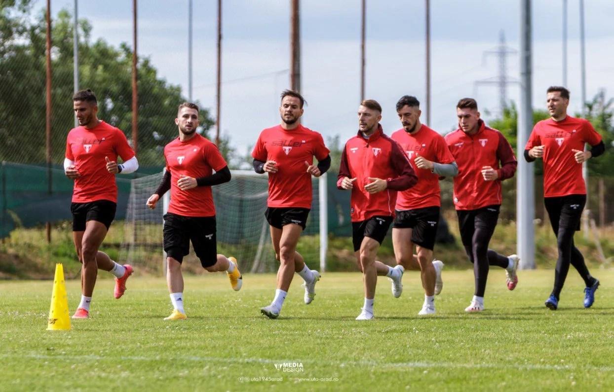 Croații de la HNK Gorica și Hajduk Split și slovenii NK Aluminij, adversarii confirmați ai UTA-ei în cantonamentul din Slovenia!