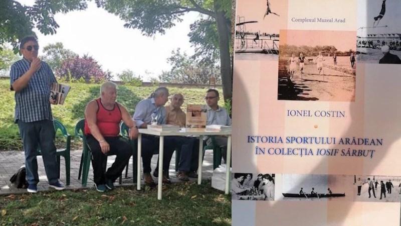 """165 de foto-documente din """"vremea fracurilor și a jobenelor"""" în apariția editorială """"Istoria sportului arădean în colecția Iosif Sârbuț"""""""