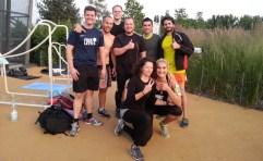 Freeletics Gruppe_Skaterpark