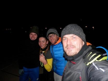 Niklas, Marija, Harald und ich