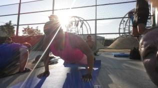 Arina und Venus Workout