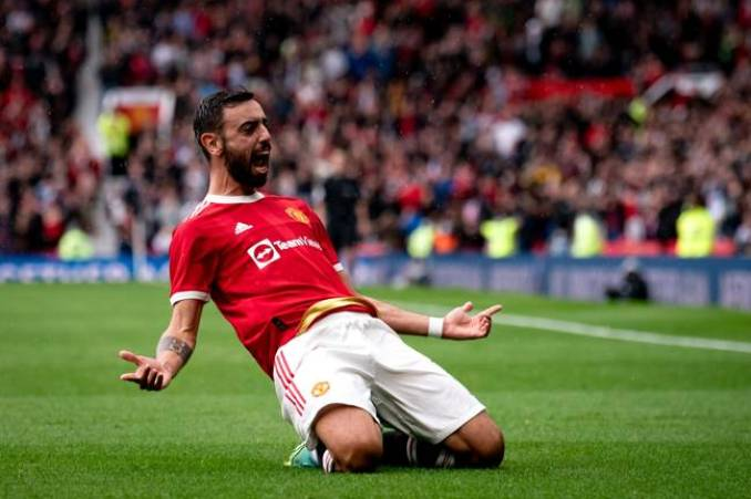 Manchester United midfielder Bruno Fernandes finished third in the race for the Golden Boot last season