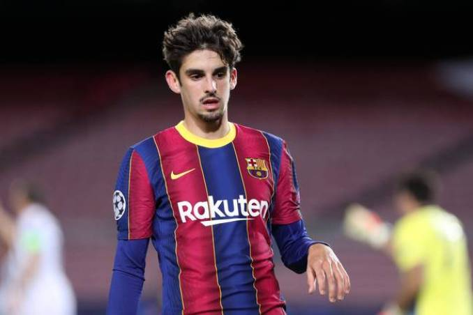Francisco Trincao is currently on loan at Wolverhampton Wanderers from Barcelona