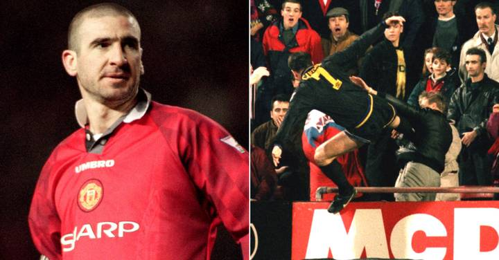 Premier league nostalgia with eric cantona, david beckham and alan shearer. Eric Cantona Says Only Regret Is Not Kicking Crystal Palace Fan Harder