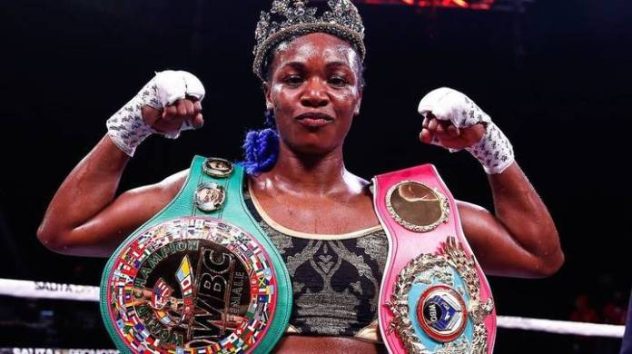 Women's Boxing Champion Claressa Shields Says '98 Per Cent Of Men Can't  Beat Me' - SPORTbible