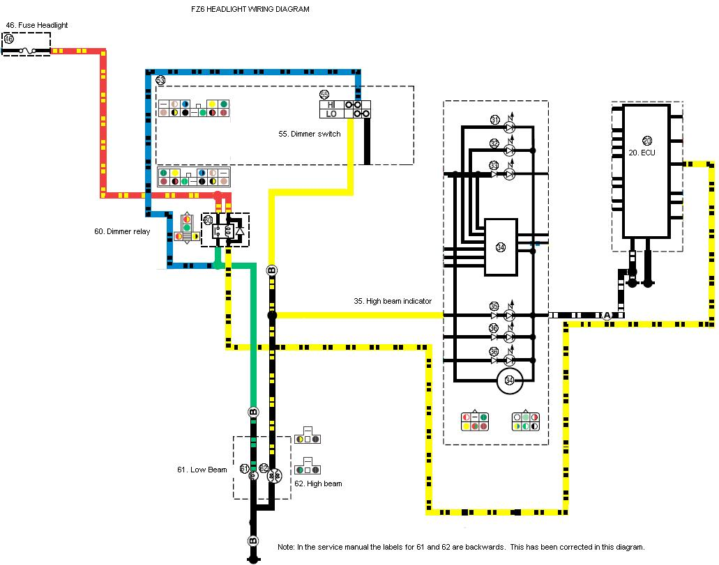 yamaha mio headlight wiring diagram overhead of car new diferent mod page 3 sportbikes