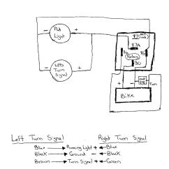 Wiring Diagram For Motorcycle Blinkers 7 Way Trailer Plug Chevrolet Flush Mount Markers Sportbikes