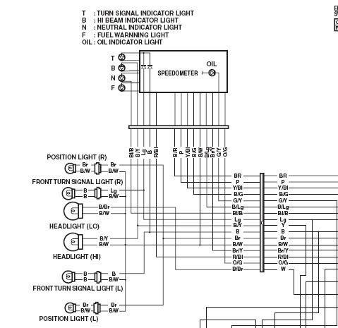 Wiring Diagram For Yamaha Sr250