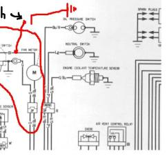 Bypass Relay Wiring Diagram 1980 Honda Cb750c Cooling Fan Override Switch - Sportbikes.net