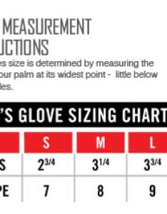 Icon gloves size chart also glove rh sportbiketrackgear