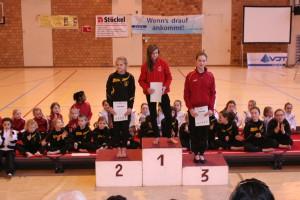 Platz 3 für Anne Brassel beim Freundschaftswettkampf