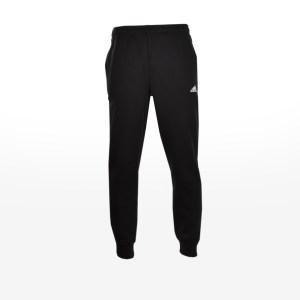 adidas - ESSENTIALS TAPERED FLEECE PANTS - BLACK/WHITE