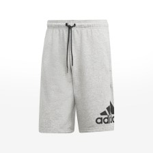 adidas - MH BOS SHORT FT - MGREYH/BLACK
