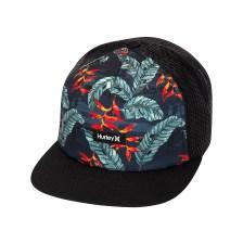 Hurley - M MIXTAPE HAT - 011 BLACK FLORAL