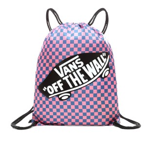 Vans - WM BENCHED BAG - BLUE SAPPHIRE-STRAWBERRY PINK CHECKERBOARD