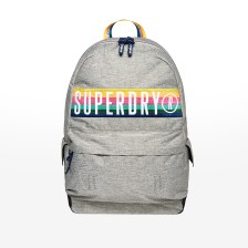 Superdry - D2 RETRO BAND MONTANA - LIGHT GREY MARL