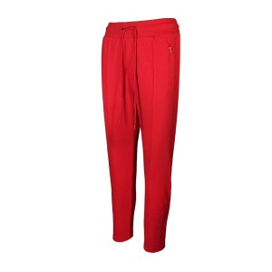 Body Talk - BDTKW LOOSE CARROT PANTS 7/8 - LOW CROTCH - RED