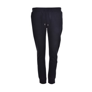 Body Action - WOMEN RELAXED JOGGERS - ΒLΑCΚ