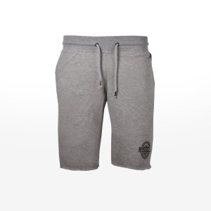 Russell Athletic - SHORTS WITH RAISED ROSETTE PRI - NEW GREY MARL