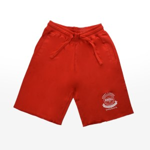 Russell Athletic - SHORTS WITH 'AMERICAN STYLE' P - FIERY RED