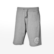 Russell Athletic - RAW EDGE ROSETTE PRINTED SEAML - NEW GREY MARL