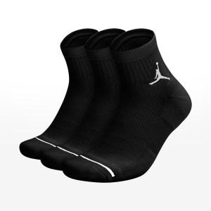 Nike - U JUMPMAN EVERYDAY MAX ANKLE 3PR - BLACK/BLACK/BLACK