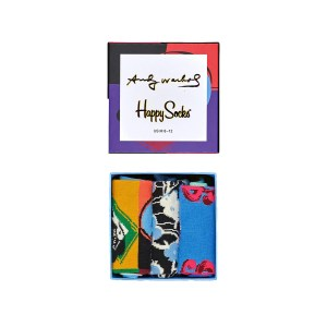 Happy socks - ANDY WARHOL 3-PACK GIFT BOX - MULTICOLOR