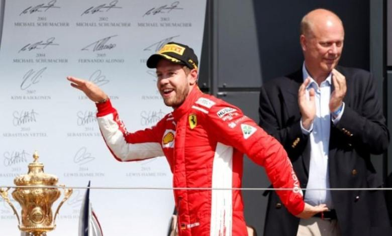 Formula 1: Vettel wins and Hamilton in second place in Silverstone