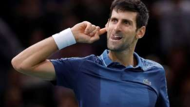 Djokovic defeats Federer and is the finalist in Paris Masters