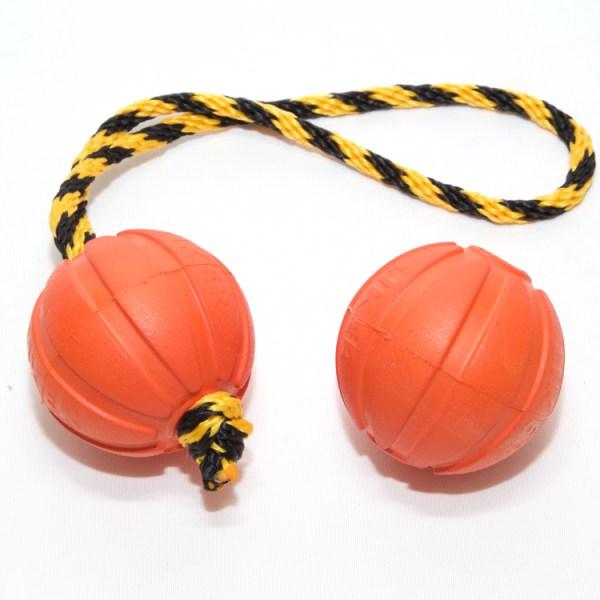 Мяч Liker 7 см со шнуром-петлей и без шнура