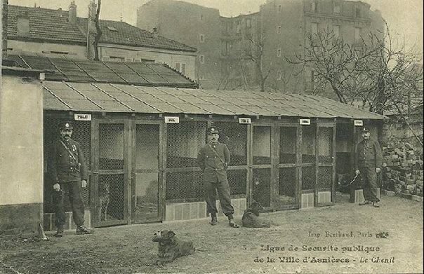 First dogs of Paris police dog brigade-3