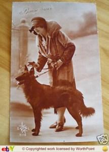 Молодая женщина с грюнендалем, начало 1900х гг.